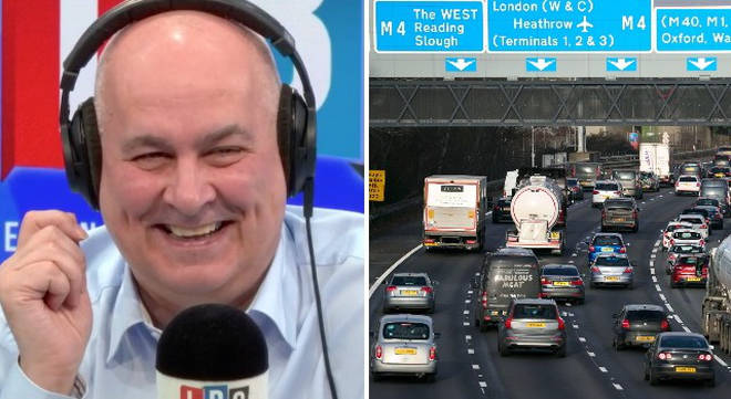 Iain Dale burst out laughing at the caller's plans