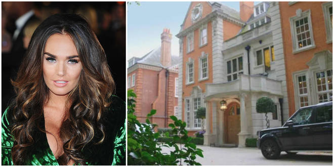 A man and woman have been charged with raiding Tamara Eccleston's home