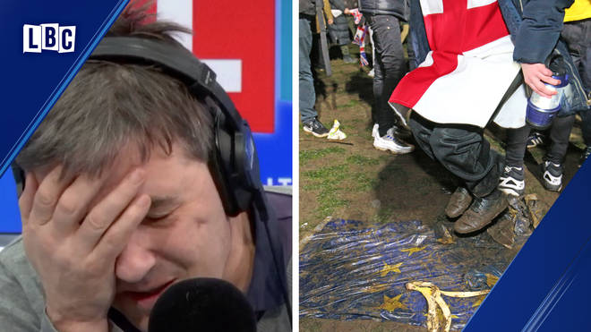 """""""I&squot;m scared"""": Tearful caller shares why she&squot;s afraid of Brexit"""