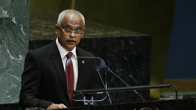 President of Maldives Ibrahim Mohamed Solih was elected in 2018 and swiftly applied to rejoin