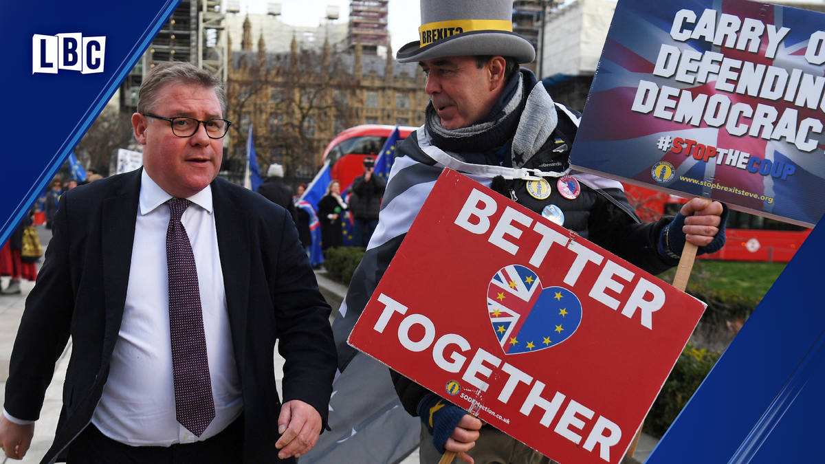 Mark Francois celebrated Brexit in a way that only he could