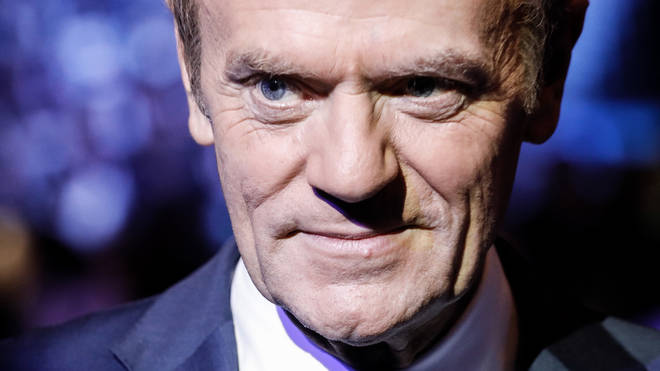 Donald Tusk made the comment to the BBC