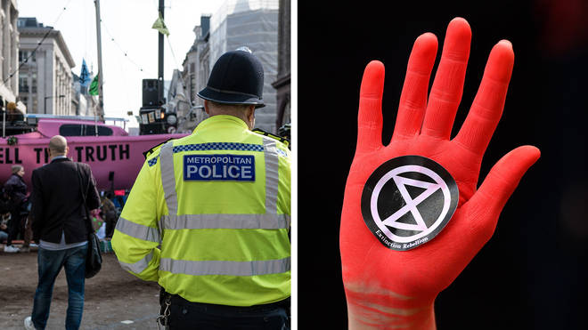 Nick Ferrari is calling for greater powers for police over Extinction Rebellion protests