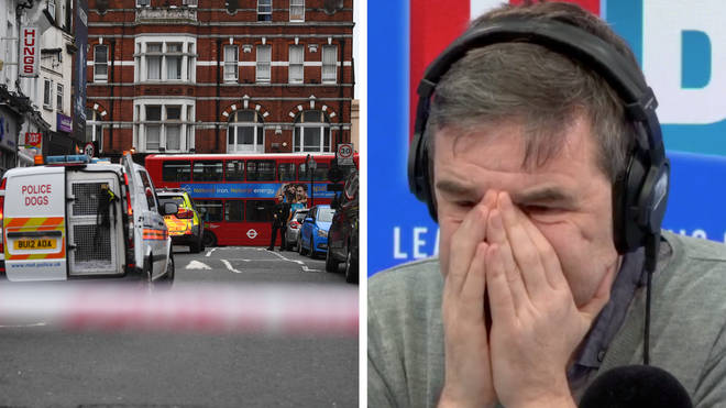 Streatham attack: Eyewitness gives shocking account of 'terror-related incident'