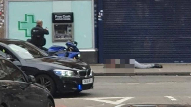 Police shot a man dead in the street in Streatham