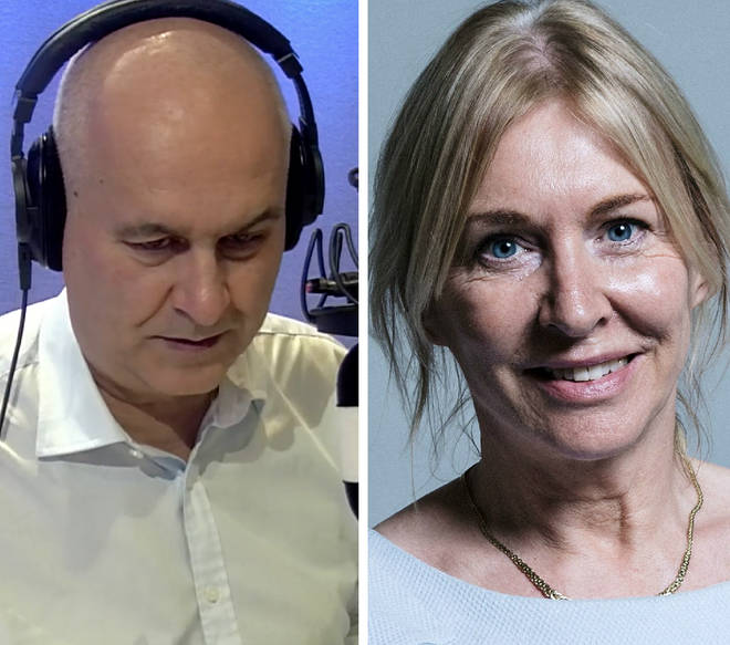 Nadine Dorries accused the EU and Remainer MPs of pushing Britain towards a no-deal Brexit