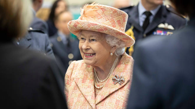The Queen beamed as she visited the facility near her Sandringham Estate