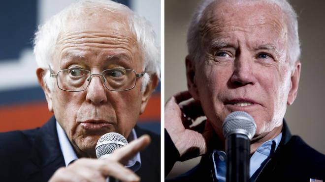 Bernie Sanders and Joe Biden are the frontrunners in the Iowa race
