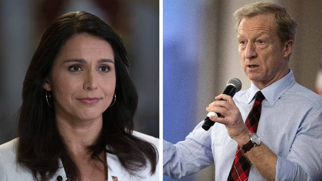 Tulsi Gabbard and Tom Steyer are unlikely to win in Iowa