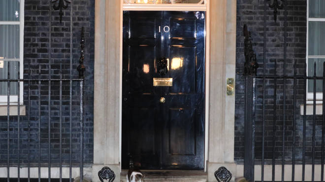 Journalists boycotted Downing Street