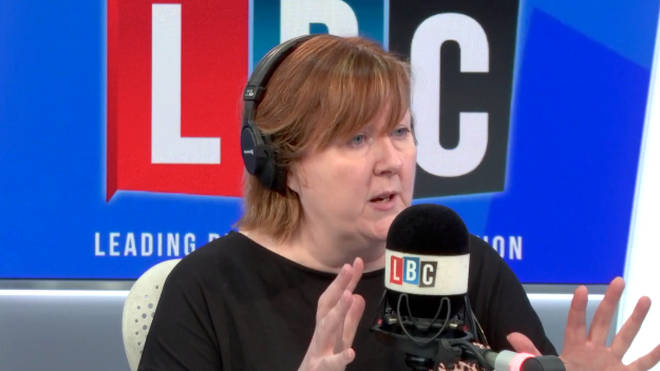 "LBC presenter Shelagh Fogarty schooled a caller who demanding that the UK ""gets a grip"""