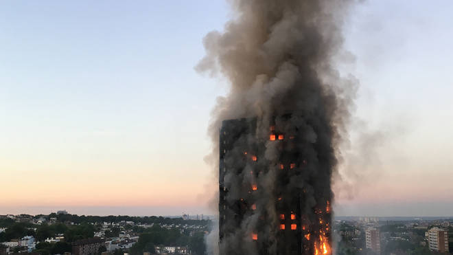 The Grenfell Tower disaster, which killed at least 80 people