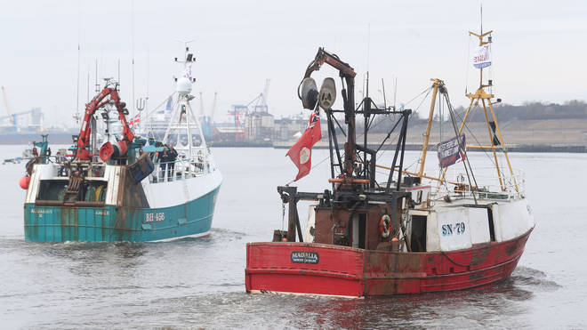 The UK wants to reserve its waters for British trawlers