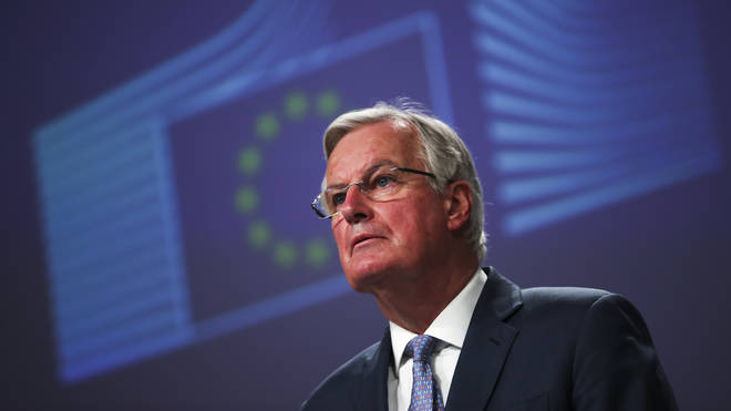 Mr Barnier says he has an 'exceptionally offer' for the UK