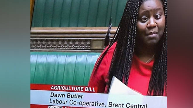 The BBC captioned images of Marsha de Cordova with Dawn Butler's name