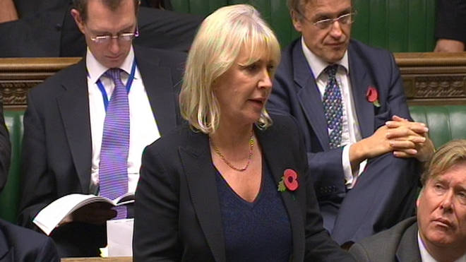 Nadine Dorries has apologised to the victims