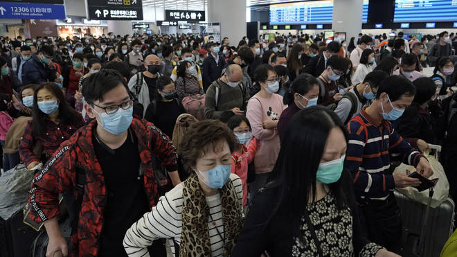All Brits in China have been told to leave urgently due to the outbreak of coronavirus