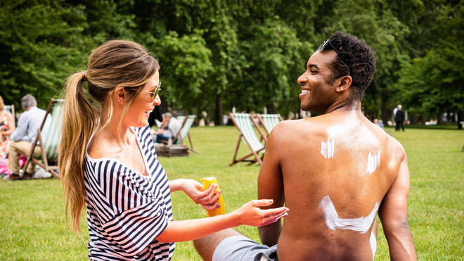 Avoid the sun and make sure you use suncream