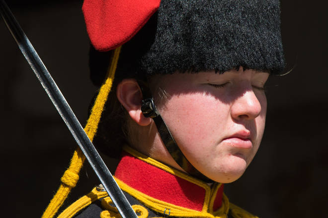 At least you don't have to dress like a member of the Household Cavalry in the heatwave