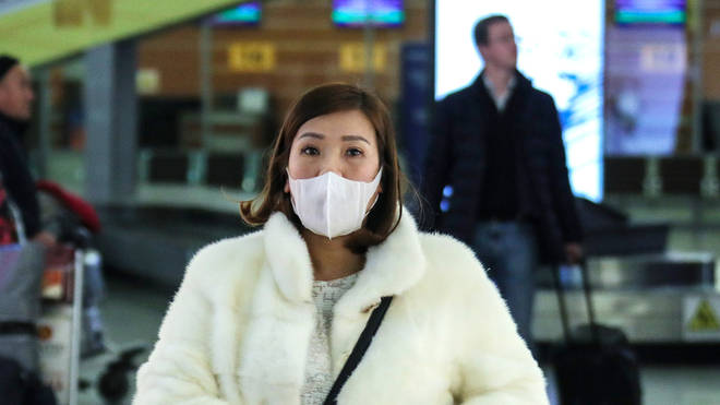 Chinese citizens have been seeing wearing masks in public