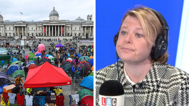 Nickie Aiken revealed the effect on local councils from the Extinction Rebellion protests