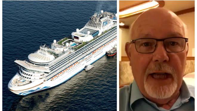 David Abel is among those quarantined onboard the Diamond Princess