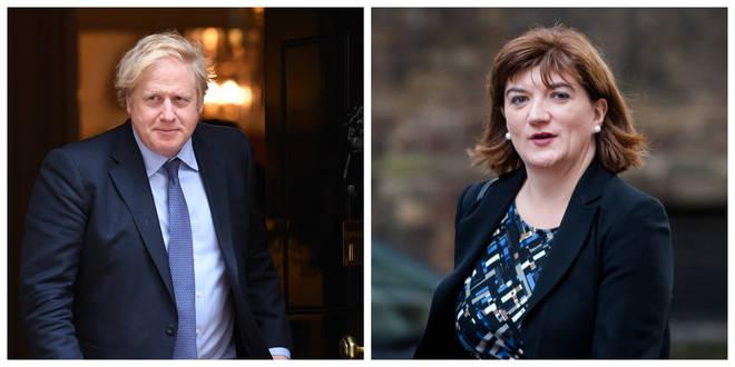 Boris Johnson and Nicky Morgan