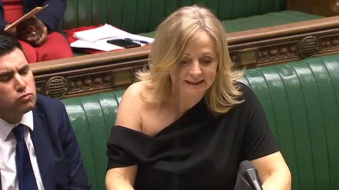 Tracy Brabin faced criticism over her off-the-shoulder dress