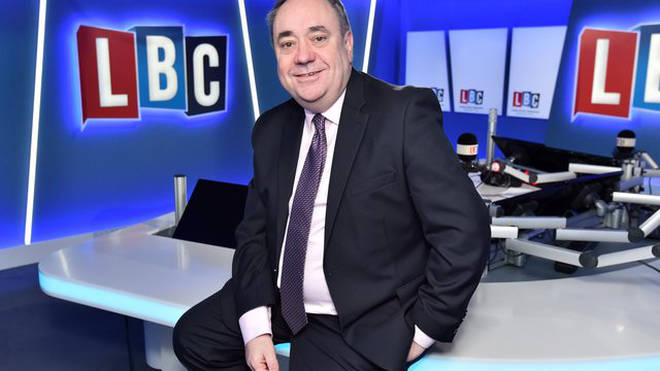 Alex Salmond, LBC's newest presenter