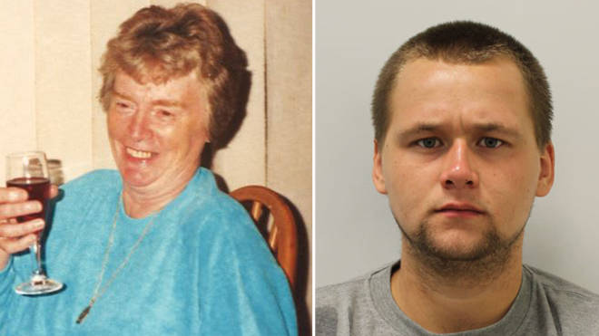 Reece Dempster, 23, admitted sexually assaulting and murdering widow Dorothy Woolmer, 89