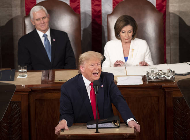 It comes the day after Trump gave his annual State of Union address