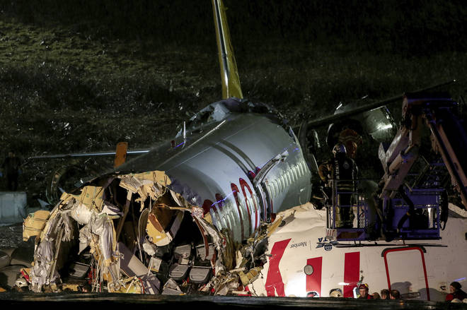 There were 177 people on board at the time of the crash