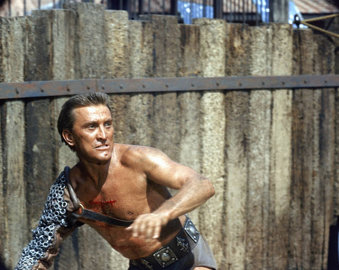 He was well known for appearing in Stanley Kubrick's 'Spartacus' in 1960