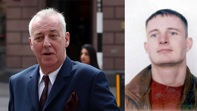 Stuart Lubbock (r) died at the home of Michael Barrymore (l)