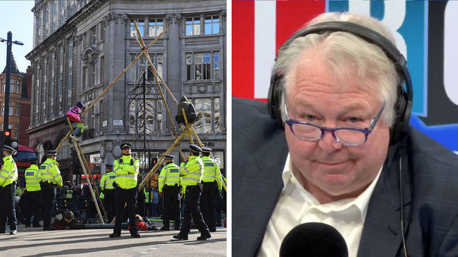 Nick Ferrari spoke to Lord Stevens about his campaign to protect the public from protests