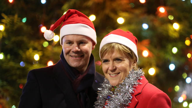 Derek Mackay (left) and Nicola Sturgeon