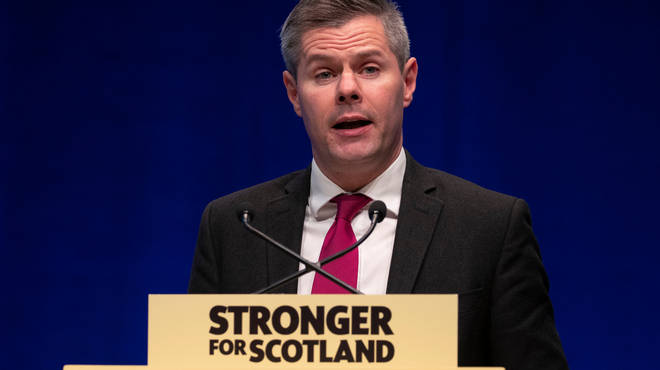 Derek Mackay was due to unveil the Scottish Government's budget