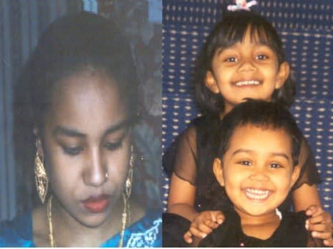 Ms Begum and her daughters were murdered in the family home on New Year's Day, 2007