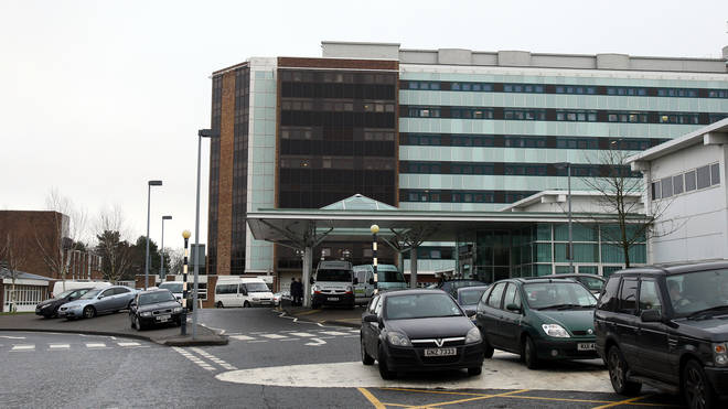 The child is reportedly undergoing tests at Altnagelvin Hospital