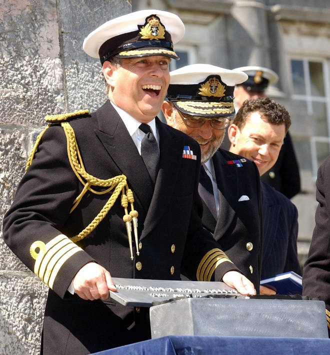 Prince Andrew served in the navy during the Falklands war