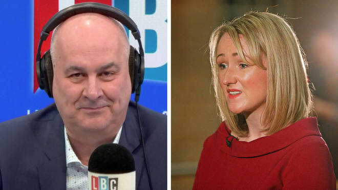 Iain Dale received a call on-air from Rebecca Long-Bailey
