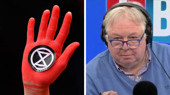 Nick Ferrari had this message for Extinction Rebellion protesters