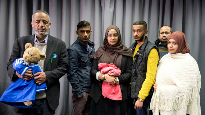 The Begum family want their daughter to be able to return to the UK