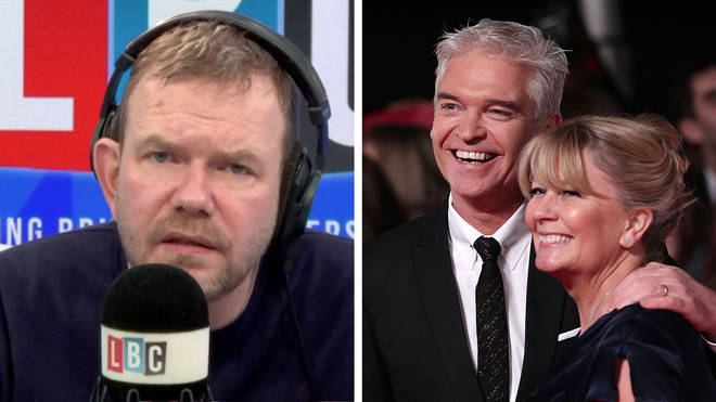 James O'Brien heard from a caller whose husband is in the same position as Phillip Schofield