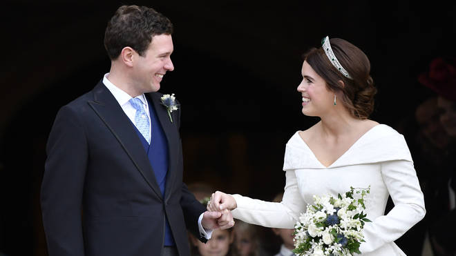 Eugenie married her husband in a lavish ceremony in 2018