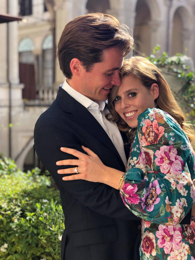 Beatrice is set to marry in May