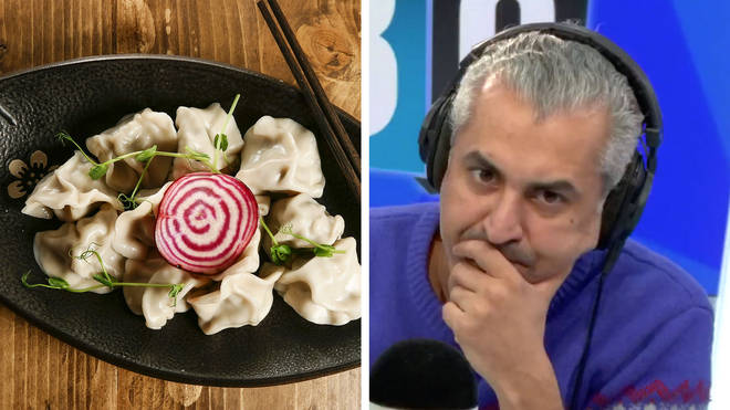 Maajid was shocked by his caller comparing Huawei to Chinese food