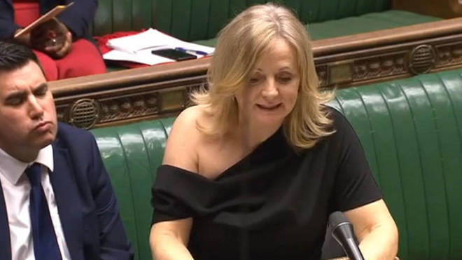 Tracy Brabin received online abuse for her off-the-shoulder dress