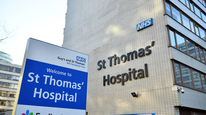 A third person was brought for treatment after testing positive for coronavirus in the UK on Wednesday