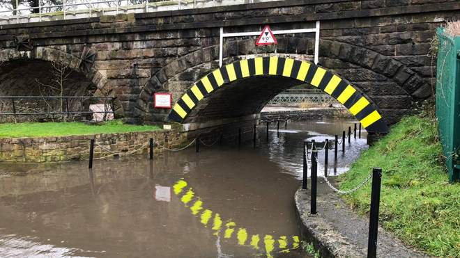 Roads have been affected by severe flooding